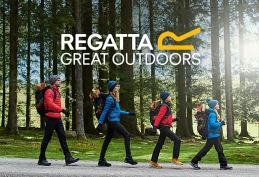 Save up to 70% on Winter Sale Orders at Regatta
