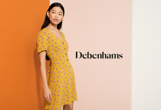 Find up to 50% Discount in the Spectacular Sale at Debenhams - Clothing, Shoes, and More