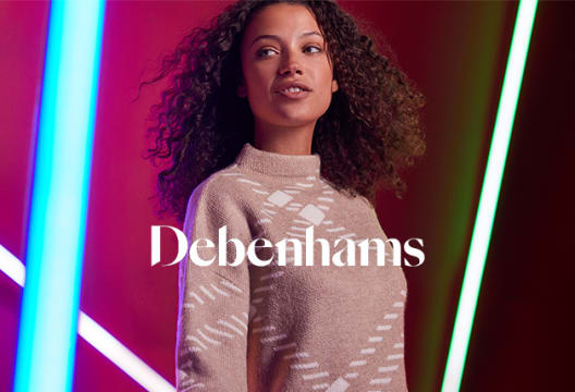 Shop the Sale at Debenhams with up to 70% Off!