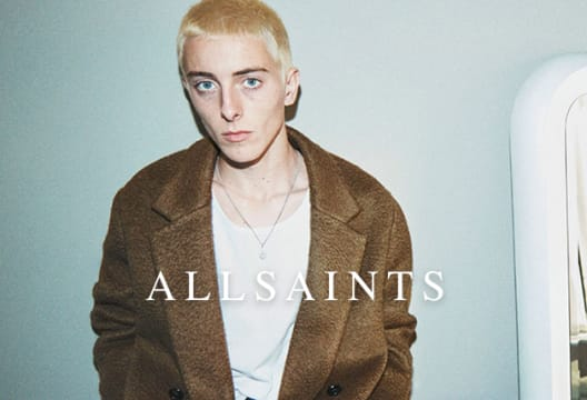 Enjoy a 15% Saving on First Orders with Newsletter Sign-ups at AllSaints
