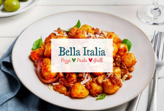 Click and Collect Your Order and Save 25% on Mains at Bella Italia