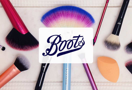 50% Savings on Selected Sleek Make-up Orders at Boots