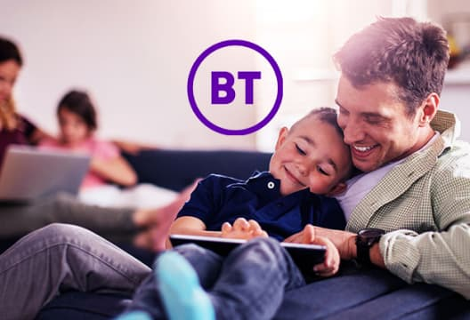 AT BT Broadband Find Fibre 2 Packages from £29.99 + £90 Reward Card