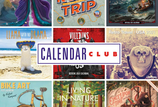 Head to Calendar Club for an up to 75% Saving on Orders in the Sale