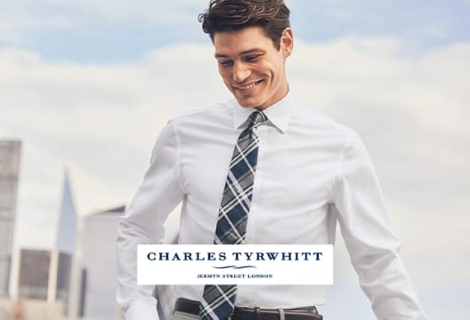 Enjoy a 10% Discount on Your Shop at Charles Tyrwhitt