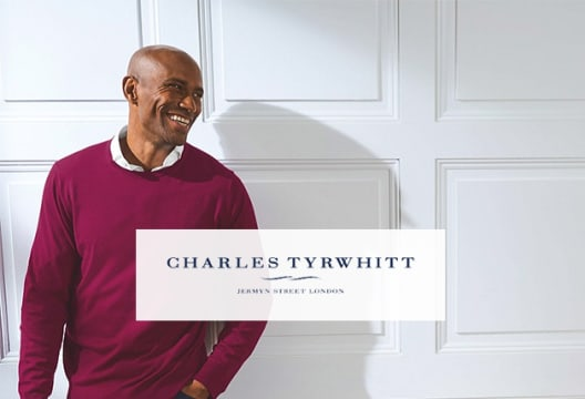 15% Off Plus Free Delivery on Charles Tyrwhitt Orders Over £100