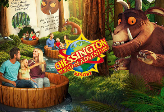 Save up to 33% by Booking in Advance at Chessington World of Adventures