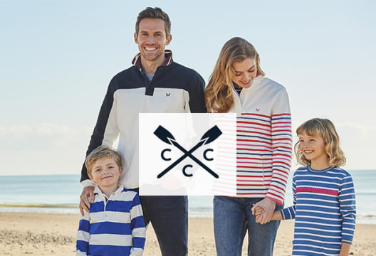 £15 Off Orders Over £60 at Crew Clothing