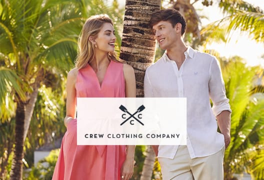 Save 20% Off Crew Clothing New Season Styles