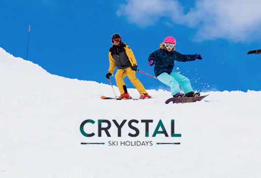 2 for 1 at Crystal Ski Holidays on Lift Passes