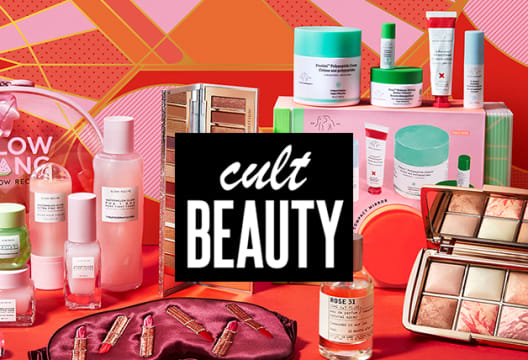 Enjoy 10% Off Your Next Cult Beauty Order When You Sign up to the Newsletter