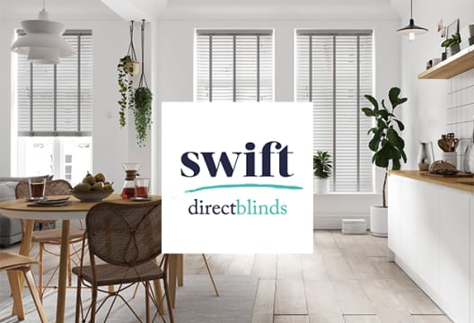 Claim an Extra 5% Saving on All Lines at Swift Direct Blinds