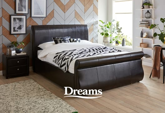 Save in the Clearance at Dreams Beds with up to £850 Off