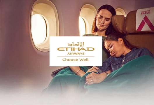 Grab a 20% Saving on Select Economy Standard Seats as a Silver Member at Etihad Airways