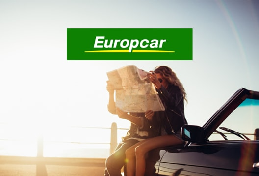 Head to Europcar to Save £10 on Bookings Over £100