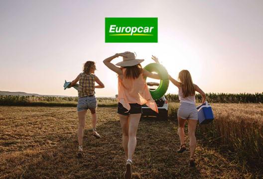 Members Save 10% on Bookings at Europcar