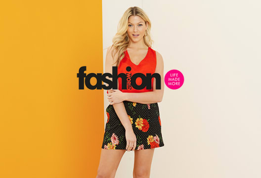 Save 20% on Fashion, Footwear and Lingerie Orders Over £90 at Fashion World