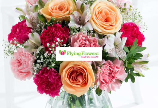 10% Discount on Your Next Bouquet Order at Flying Flowers