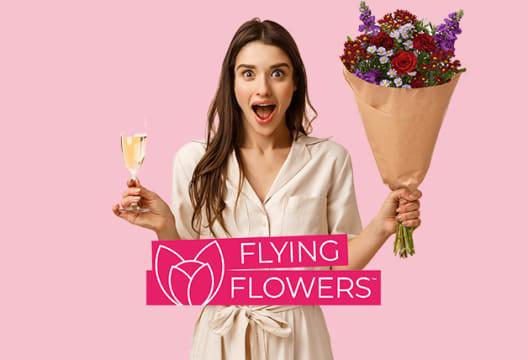 Enjoy 15% Off Orders at Flying Flowers