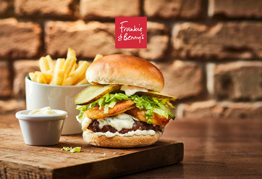 Enjoy 30% Off Meals with Cinema Tickets at Frankie & Benny's