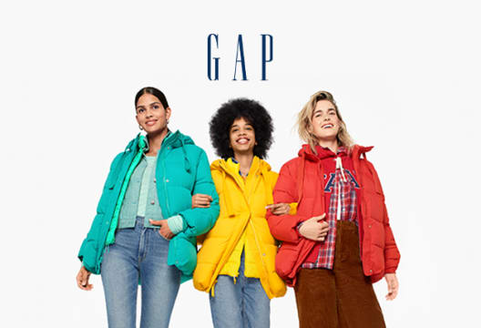 Sign-up for GAP Newsletter for a 20% Discount on First Full-Price Order