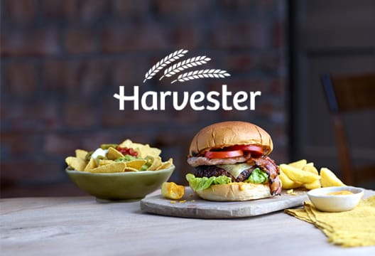 Enjoy a 25% Saving on Mains When You Sign up to the APP at Harvester