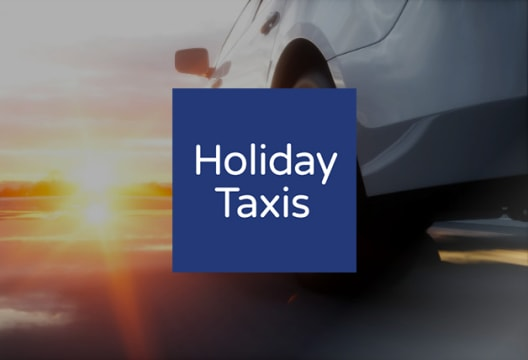 Save Up to 15% on Bookings at Holiday Taxis