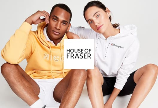 Grab as Much a 50% Savings in Outlet at House of Fraser