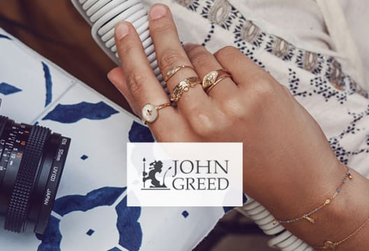 Discover a Range of John Greed Branded Jewellery for 20% Less at John Greed Jewellery