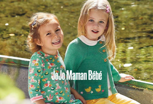 Receive 10% Off at JoJo Maman Bébé When You Sign-up for the Newsletter
