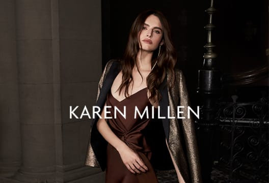 £10 Saving on Orders Plus 25% Off Everything at Karen Millen