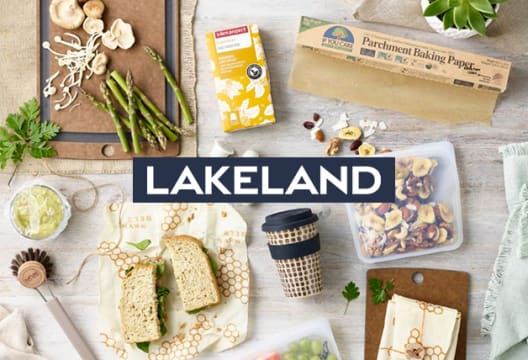 Sign-up for the Newsletter at Lakeland and Win £100 in Gift Cards