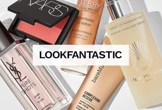New Customers: Get a 20% Saving on Your £50 Spend at LOOKFANTASTIC