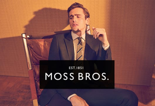 Grab a £40 Saving on Your £200+ Shop at Moss Bros