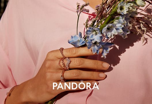 Find 60% Discount on Selected Lines in the Pandora Outlet