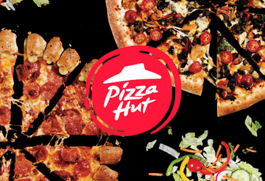 Enjoy a 40% Discount on Pizzas and Side Orders Over £35 at Pizza Hut