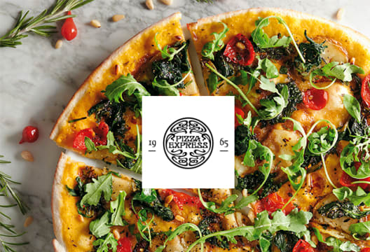 25% Off Selected PizzaExpress Orders Over £15 with Deliveroo