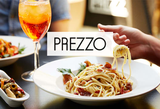 Enjoy 2 for 1 on Starters, Mains & Desserts at Prezzo