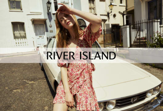 Don't Miss Out on Saving 15% at River Island When You Spend Over £65 on Your First Order