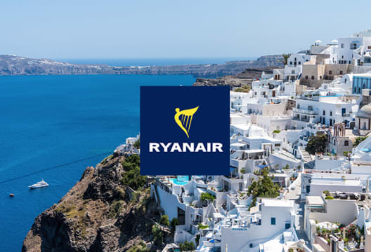 Up to 25% Off Seat Booking at Ryanair