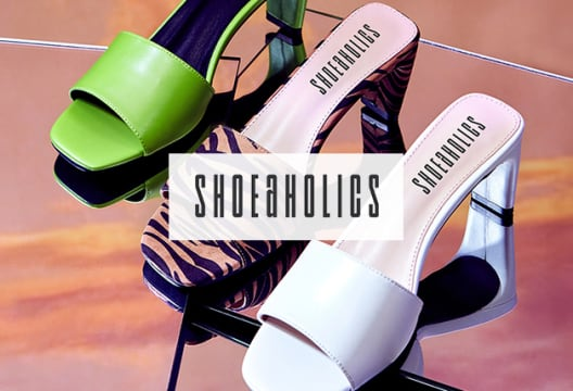 Get up to 65% Discount on Premium Styles at Shoeaholics
