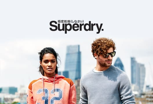 Enjoy Savings of up to 50% on Outlet Orders at Superdry