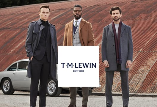 At T.M.Lewin Enjoy up to 70% Savings in the Sale