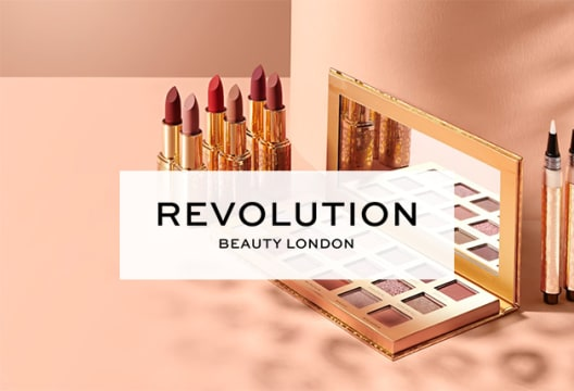 Don't Miss up to 50% Off Sale Orders When You Shop at Revolution Beauty