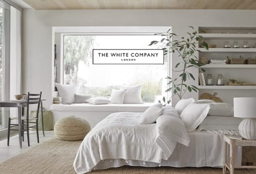 50% Off Selected Clothing & Home Essentials in then Mid-Season Sale at The White Company