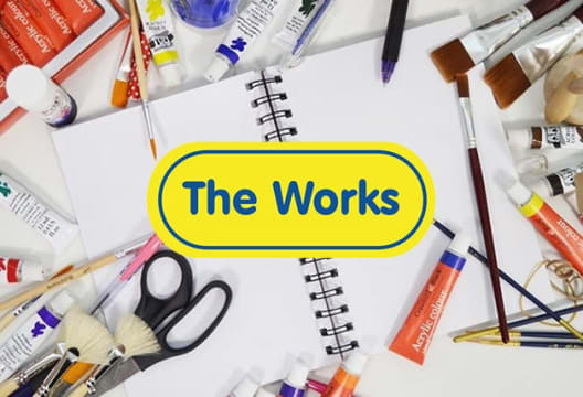 Don't Miss 20% Off Orders Over £10 at The Works