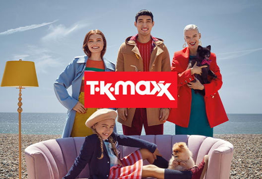 Find Your Favourite Brands for up to 60% Less at TK Maxx