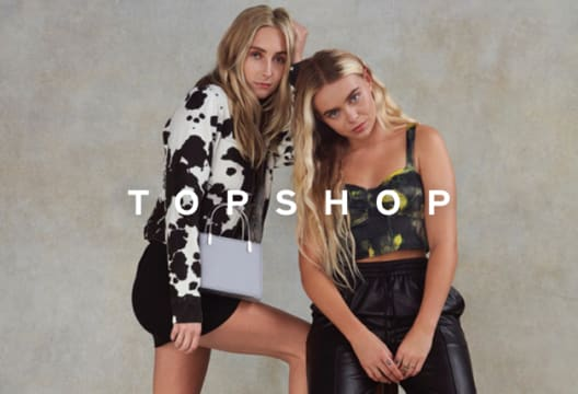 Head to TOPSHOP for a 60% Saving on Selected Dresses