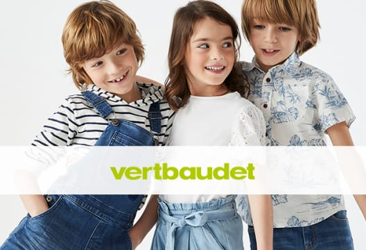 Save 20% on Your First Full-Priced Shop at Vertbaudet