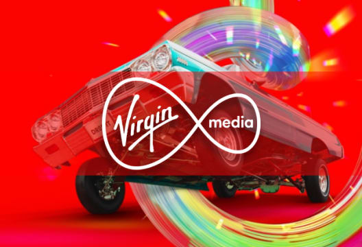 Choose M200 Fibre Broadband and Phone at Virgin Media for Only £34p/m